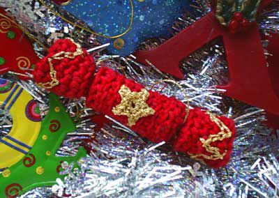 Crochet Christmas cracker